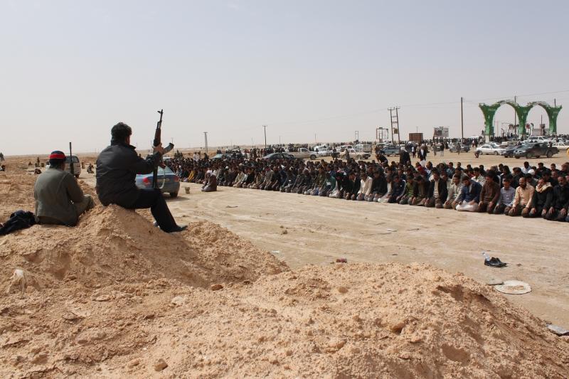 Libya Militia prayers