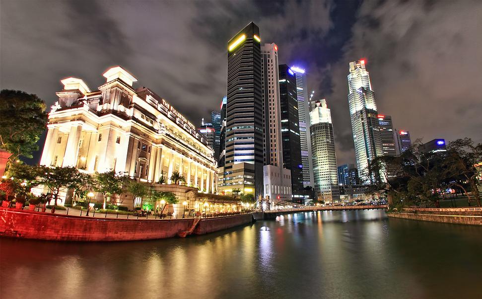 Fullerton Hotel Singapore DEM ROMERO