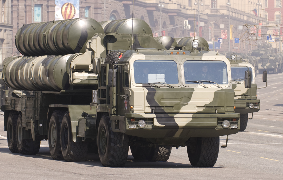 Russian S-400 missile system during the Victory parade_2010 by Aleksey Toritsyn