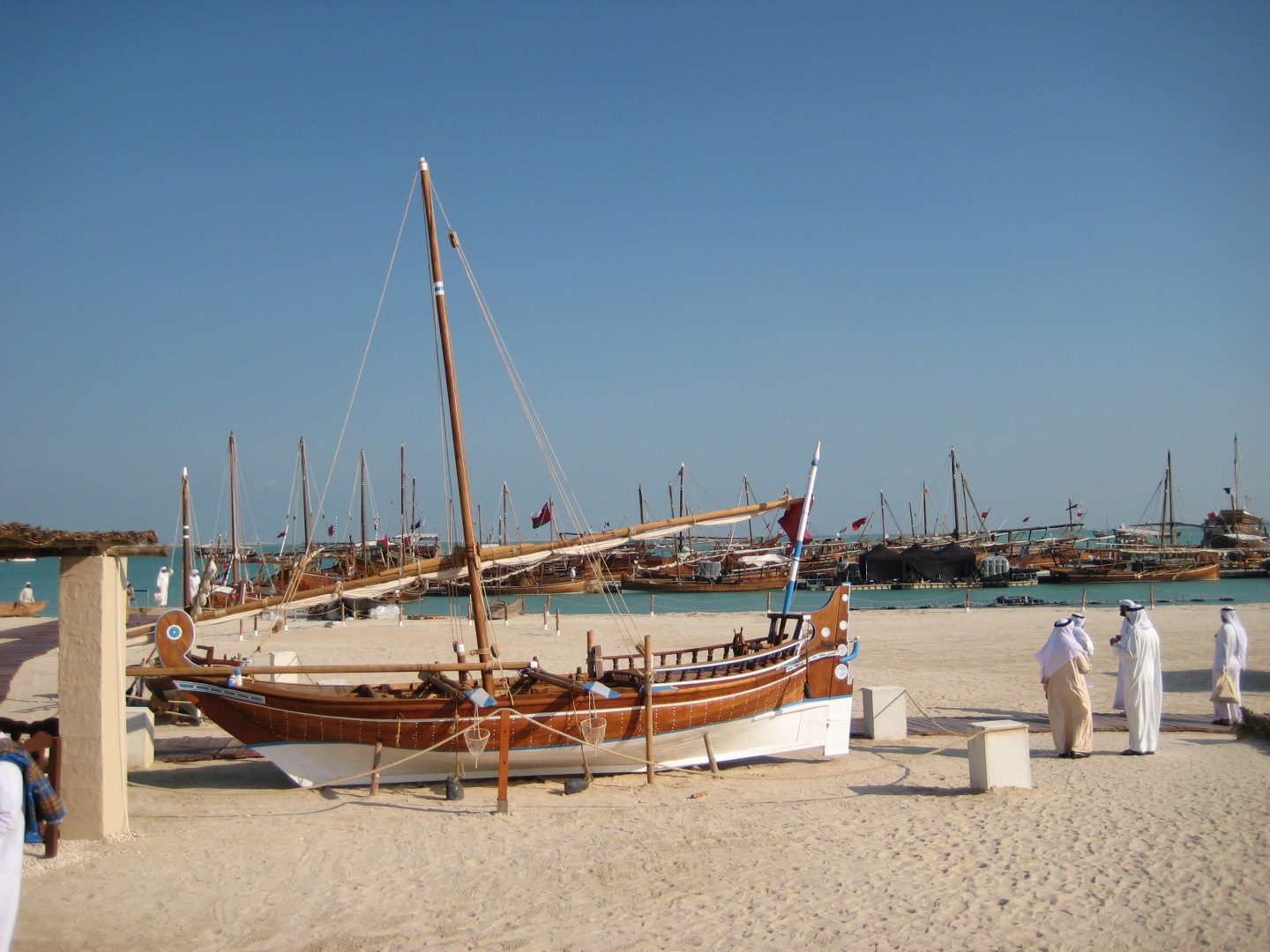 Third annual Katara Dhow Festival at Katara Cultural Village, in Doha, Qatar.