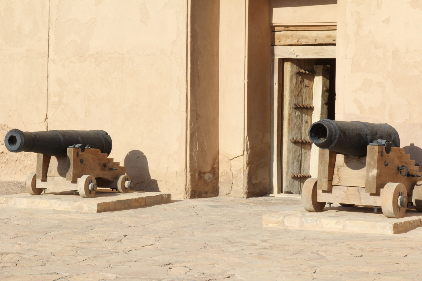 Cannons in Oman 2014