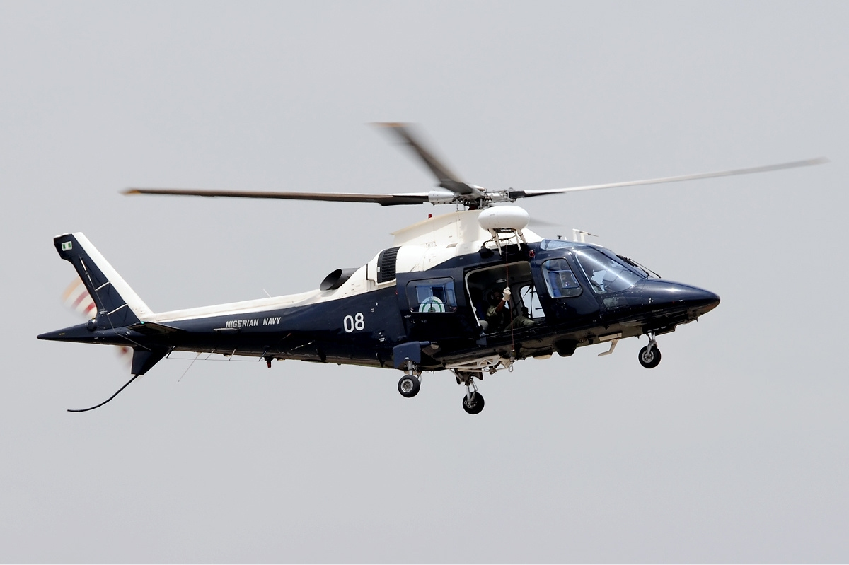 Nigerian Navy Agusta A-109LUH