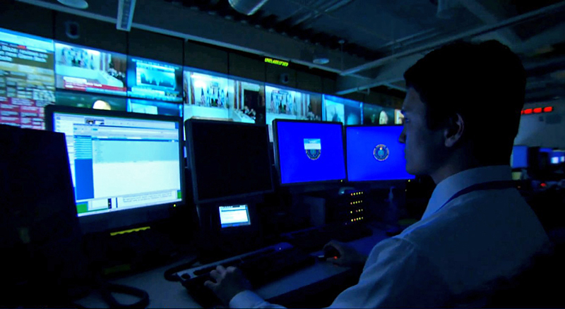 One of Defense Intelligence Agency's 24/7 watch centers.