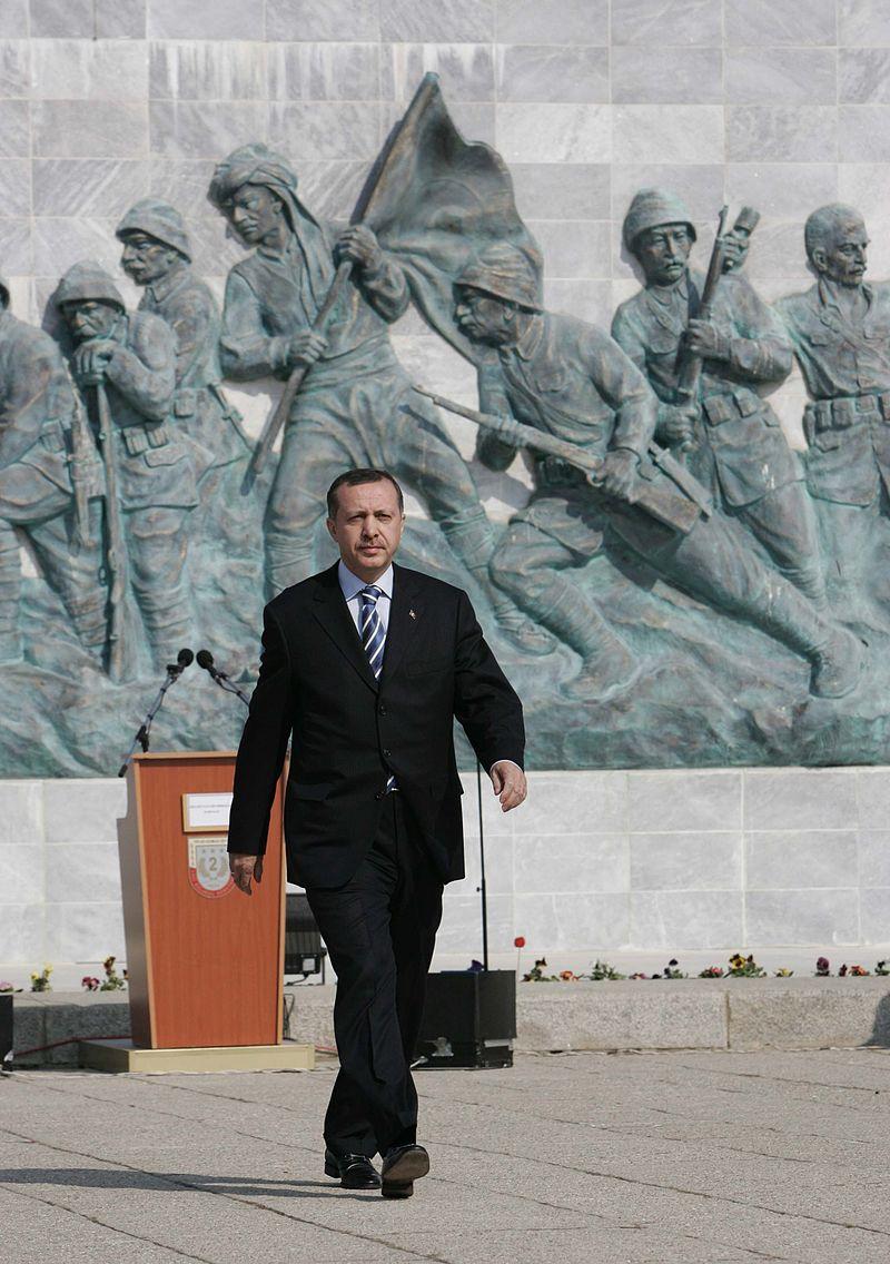 Recep Tayyip Erdoğan, President of Turkey at Çanakkale