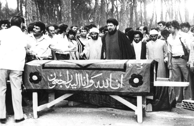 Prayer by Imam Musa Sadr on a Lebanese body