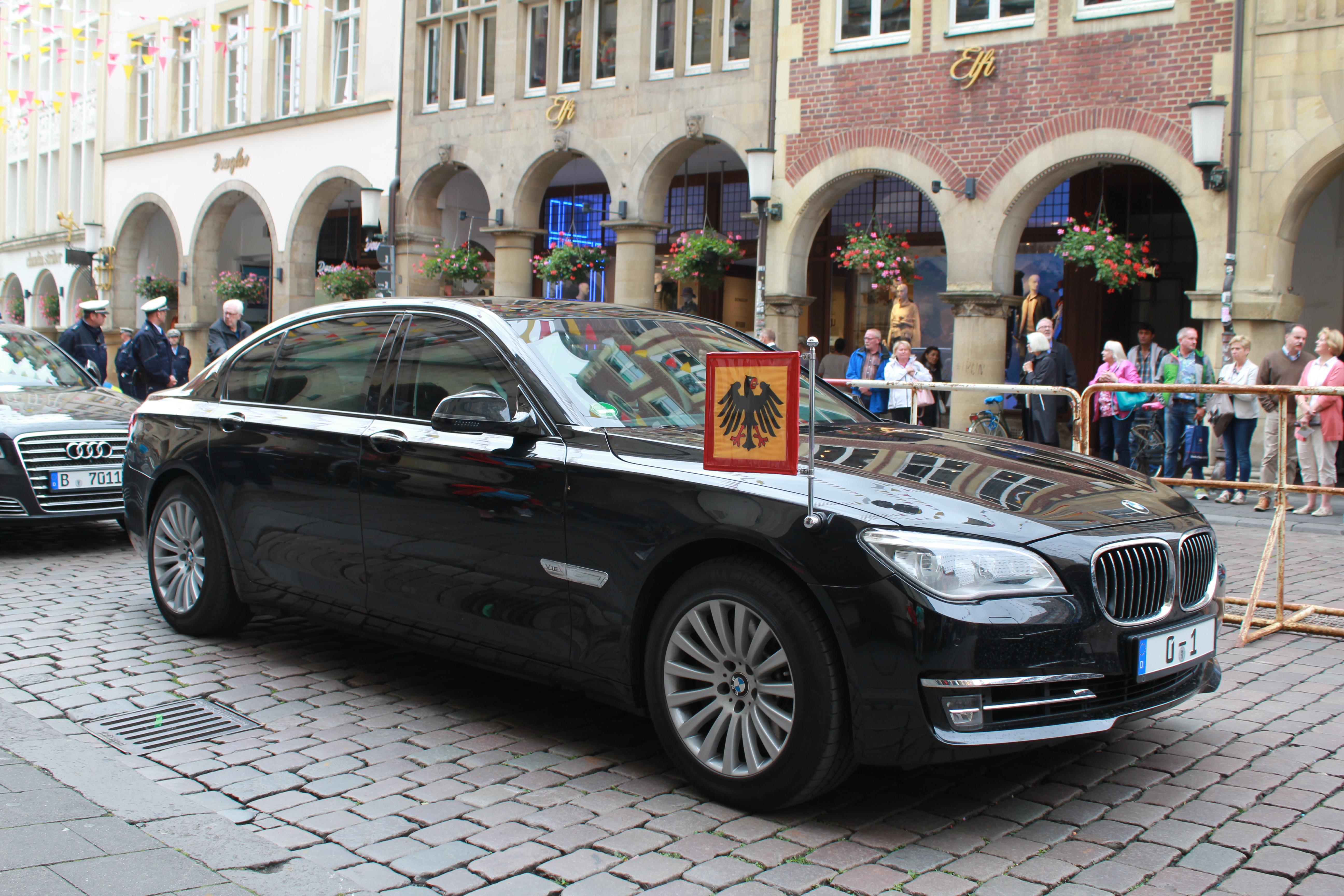 German Presidential BMW