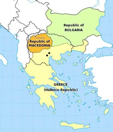 Macedonia regional names