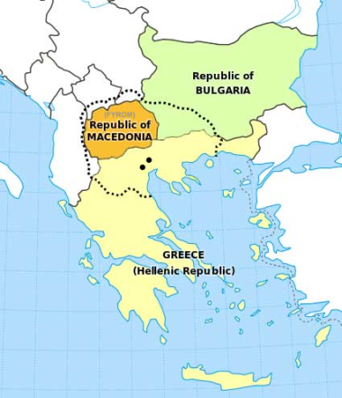 Macedonia regional names