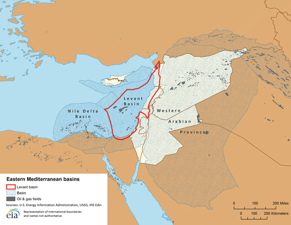 Eastern Mediterranean basins