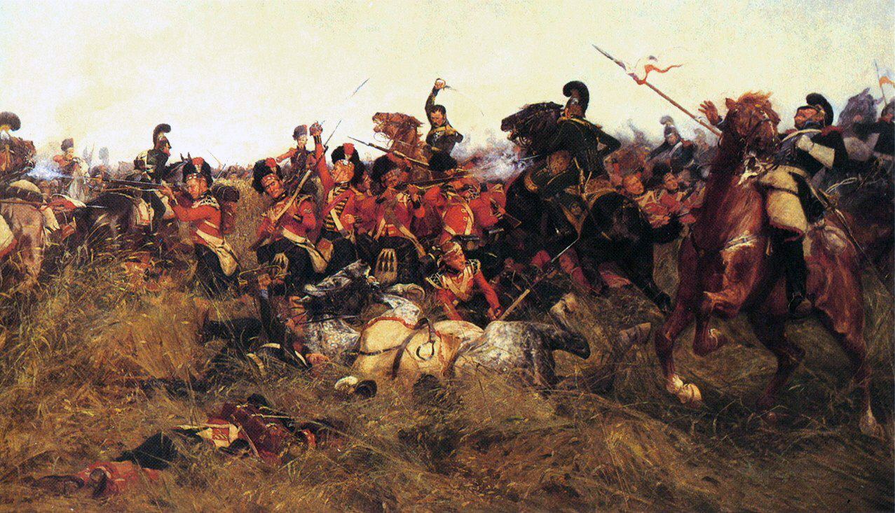 Black Watch at the Battle of Quatre-Bras, 1815