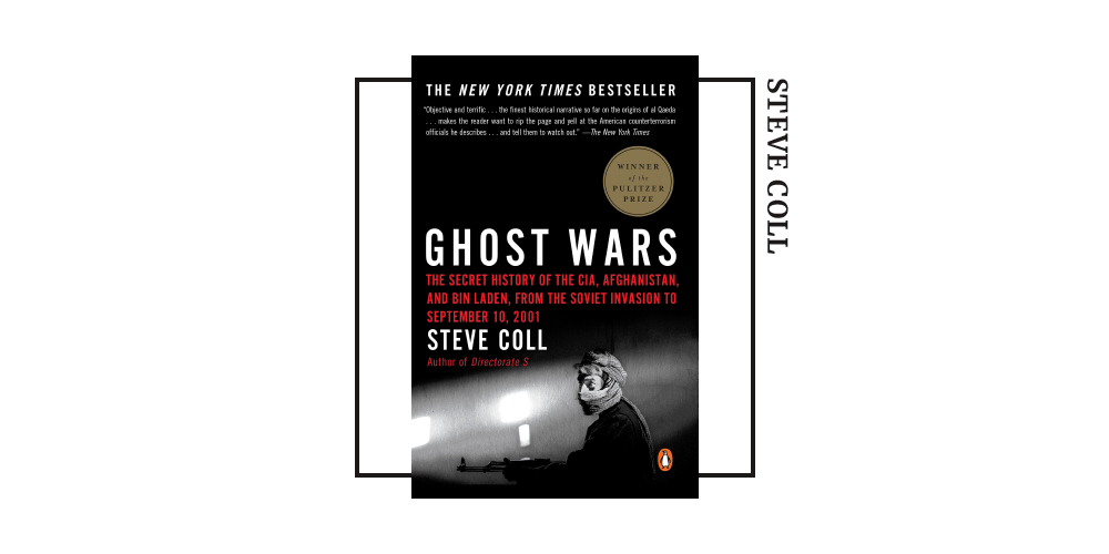 Book cover for Steve Coll's 'Ghost Wars'